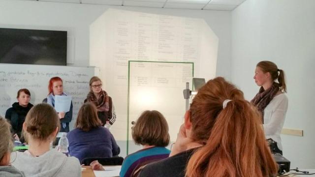 Interdisziplinäre Projektarbeit in der Bildungsakademie für Therapieberufe.
