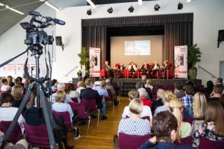 Mehr Verantwortung wagen - das war die Botschaft der Podiumsdiskussion am Mittwochnachmittag. Foto: SMMP/Bock