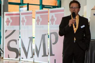 Akadamie-Leiter Andreas Pfläging bedankt sich für die engagierte Diskussion. Foto: SMMP/Bock