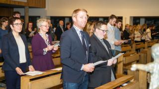 Mit einem Gottesdienst in der Dreifaltigkeitskirche hatte der Festtag begonnen. Foto: SMMP/Bock