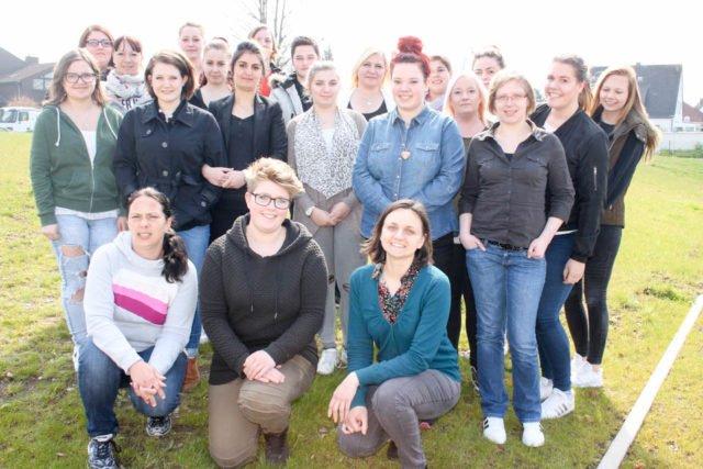 TeilnehmerInnen des Kurses 1-17